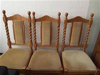 Trpezariska masa i stolici