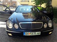 Mercedes E 220 CDI Elegance Extra socuvan itno
