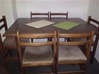 Trpezariska masa so 6 stola Povolno