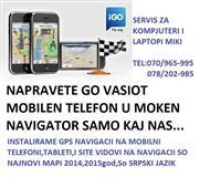INSTALIRAM GPS NAVIGACIJA NA MOBILNI TABLET i DR