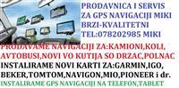 GPS URED KARTI2019 NA MOBILEN TABLET IGO GARMIN