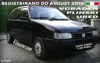 FIAT UNO 1.0 F PLIN REGISTRIRANO DO 08.2016 EVTINO