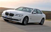 BMW 7 f01 facelift preden branik