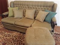 Komplet garnitura trosed  dvosed fotelja