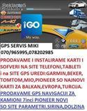 NOVI KARTI ZA SITE GPS GARMIN BEKER IGO MIO TOMTOM