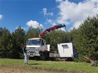 Iznajmuvanje na Kamion so Digalka Kran do 6 t