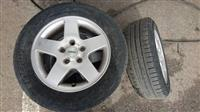 4 bandazi so gumi za Golf 5 (195/65R15)