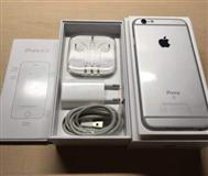iPhone 6s 64 gb silver never locked