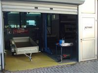 Prikolka Stema mini kufer 750kg 202x108x65 cm