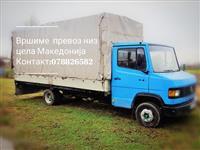 Prevoz niz cela Makedonija