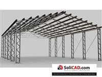 Hali metalni konstrukcii metalni garazi