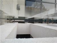 Agarta inzinering- Montaza na staklen krov