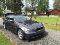 BMW 320 so svedska registracija