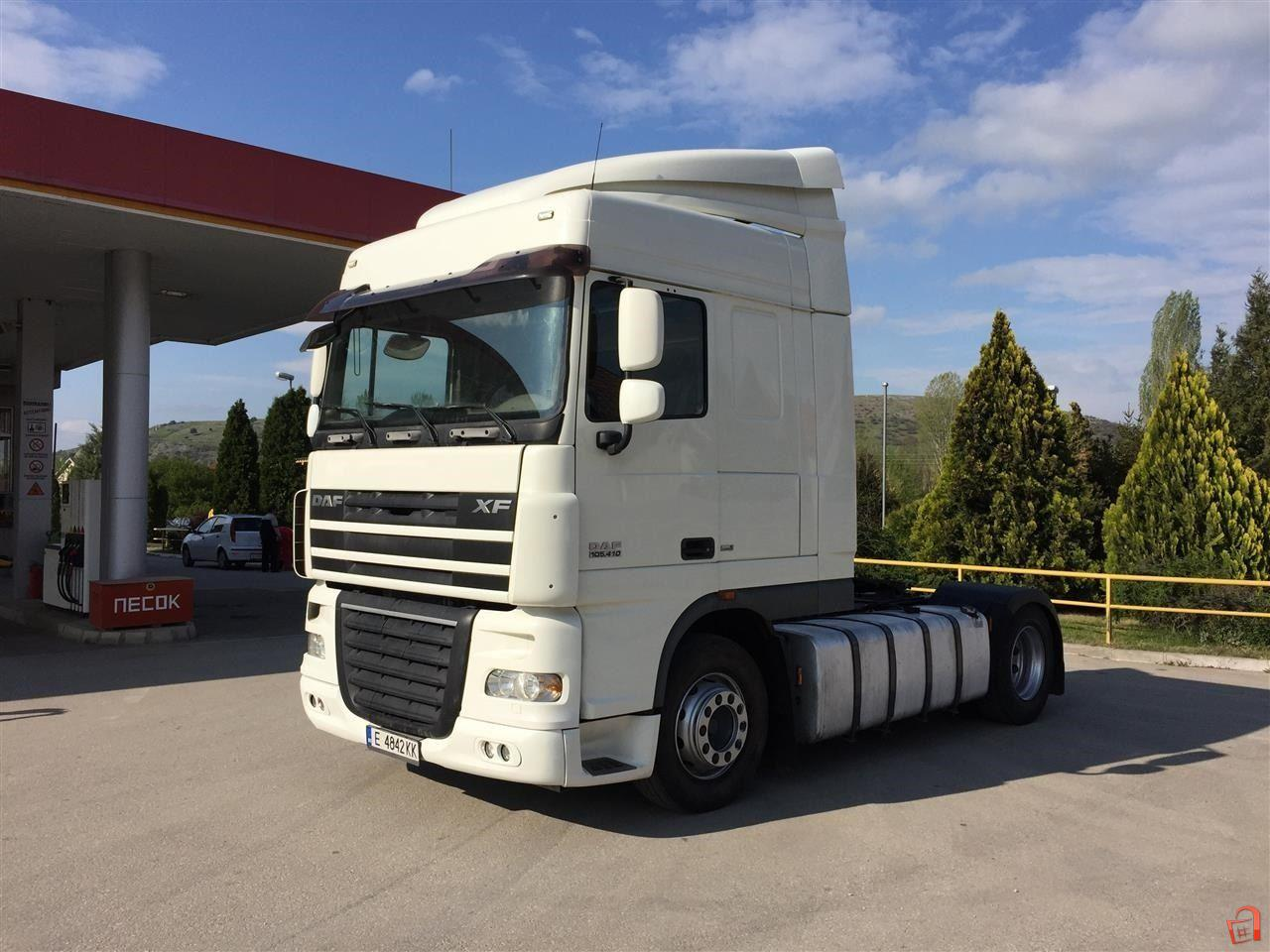 ad daf xf 105 410 euro 5 for sale kumanovo kumanovo vehicles heavy duty vehicles. Black Bedroom Furniture Sets. Home Design Ideas