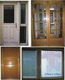 Polovni komplet 3 vrati i eden prozorec