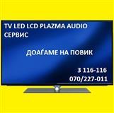 TV LED LCD PLAZMA AUDIO SERVIS DOAGAME NA POVIK