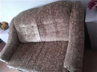 Dvosed fotelja i posebno trosed