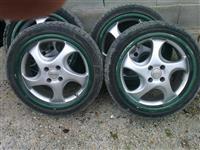 Felni 17 so gumi 205/45/17 Pirelli M&S