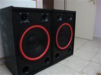 Pojacalo Pioneer  dva zvucnika