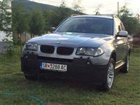 BMW X3 2.0 kako NOVO 6 brzini -04 EKSTRA SOCUVANO