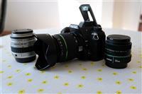 PENTAX K 5 SO OBJEKTIVI 18-55mm 35mm 35-80mm