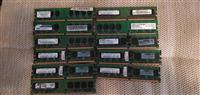 DDR2-2gb ddr2-10x1gb  neispitani