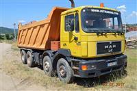 Kamion kiper MAN 4ri osovinec