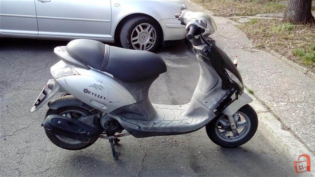 piaggio zip 50cc 4t – idea di immagine del motociclo