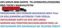 PIONEER,7inc-IGO GPS UREDI ZA KOLI,KAMIONI,AVTOBUS
