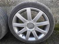 Bandazi 18 so se gumi Bridgestone Potenza za Audi