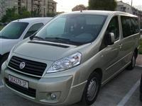 Patnicko vozilo Fiat Scudo 8+1 2.0 dizel