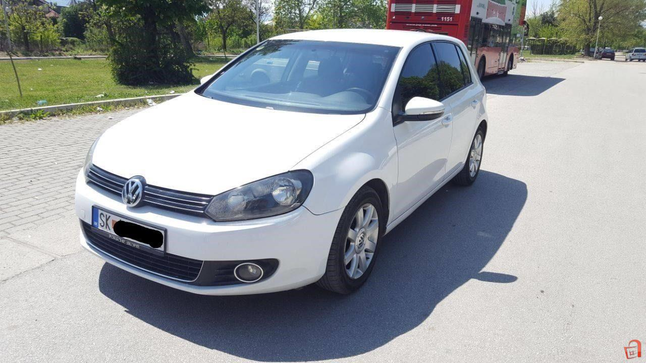 ad vw golf 6 1 6 tdi 2010 for sale skopje butel vehicles automobiles vw. Black Bedroom Furniture Sets. Home Design Ideas