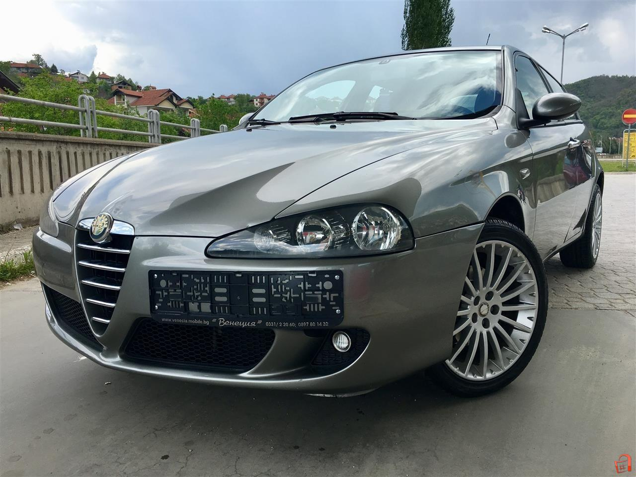 ad alfa romeo 147 1 9 jtd m sport paket full for sale kriva palanka vehicles. Black Bedroom Furniture Sets. Home Design Ideas