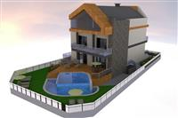 LUXURY HOUSE FOR RENT ON VODNO