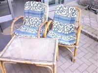 Garnituri od bambus i Fotelji