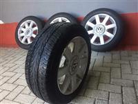 Felgi i gumi 5*112 VW Audi Seat Skoda