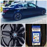 "BMW 5 E60 SET 4 ALU FELNI 18"" i 4 GUMI 245/40R18"