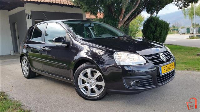 ad vw golf 5 2 0 tdi gt 170 ks 07 120000km for sale skopje skopje vehicles. Black Bedroom Furniture Sets. Home Design Ideas