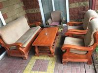 Garnituri drveni