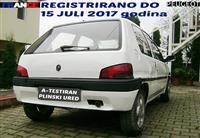 PEUGEOT 106 1.0 REGISTRIRANO A-TEST PLIN