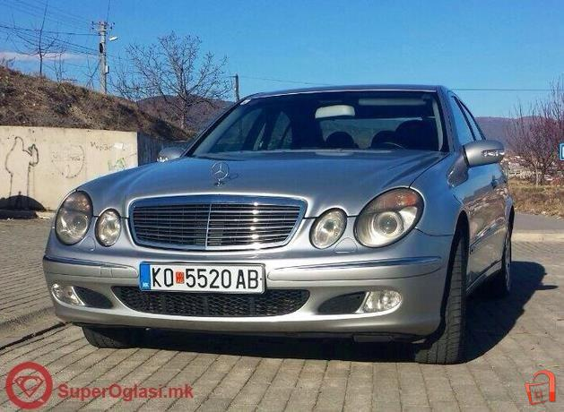 pazar3.mk - ad mercedes benz e 220 cdi classic -04 for sale, kočani