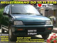 DAEWOO TICO SX -96 TOP REGISTRIRANO DO 10 11 16