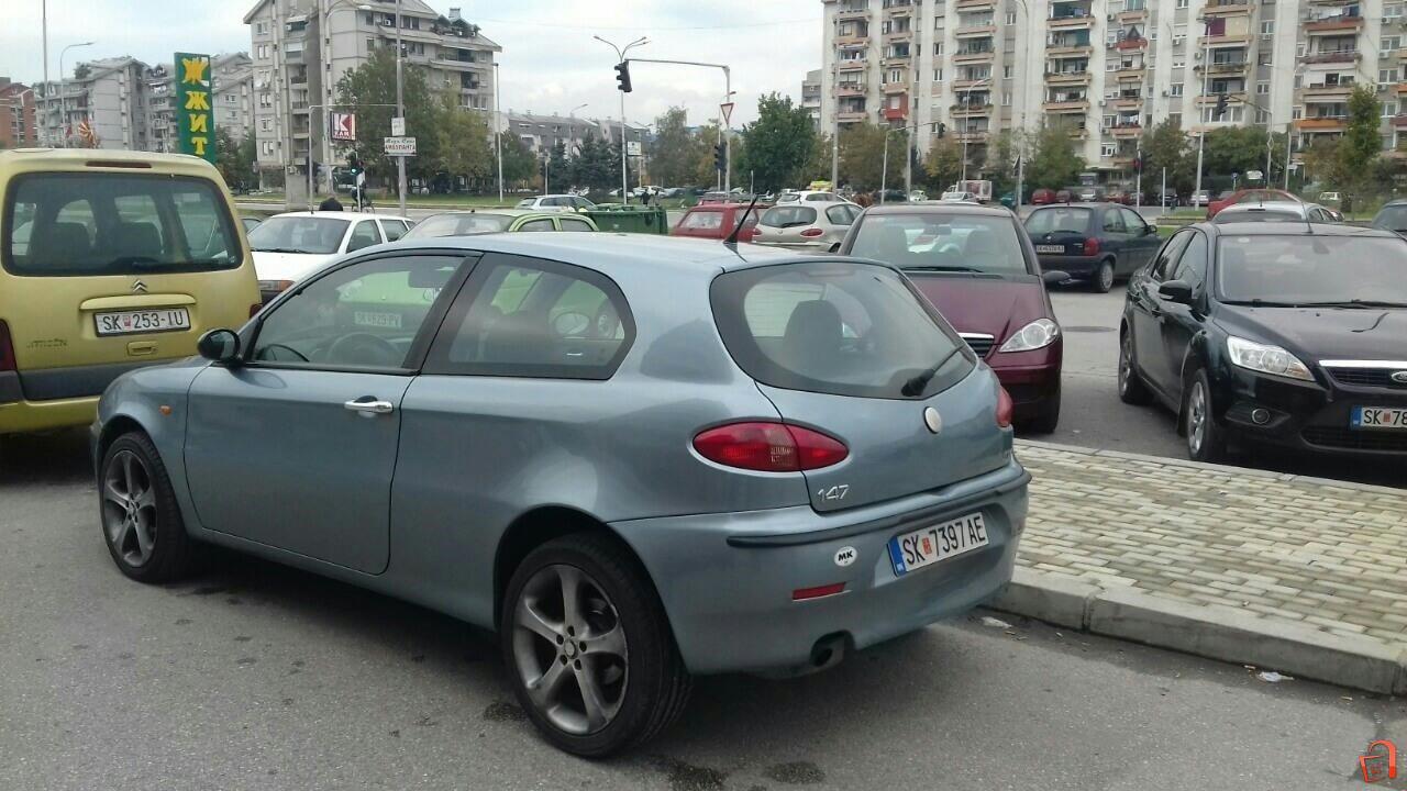 Alfa Romeo 147 1 9 Jtd Skopje