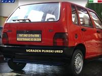 FIAT UNO1.0 -98 PLIN REG AVTOMOBIL ZA SEKOGO