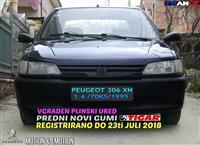 PEUGEOT 306 1.4 NOVI ZIMSKI GUMI PLIN REG DO JULI
