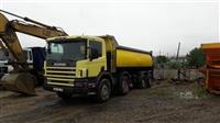 Scania 124 kamion kiper cetrisovinec