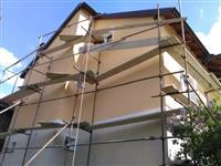 Izrabotka na fasadi i masinski vnatresen malteri
