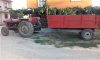 Traktor so prikolica