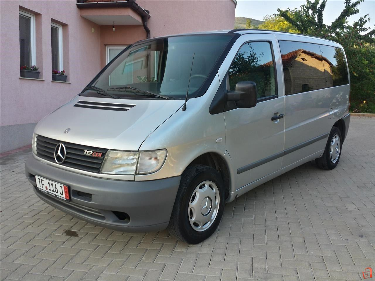 ad mercedes vito 112 cdi klima tempomat for sale skopje skopje vehicles heavy. Black Bedroom Furniture Sets. Home Design Ideas