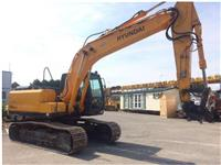 Crawler Excavators HYUNDAI R160-7A
